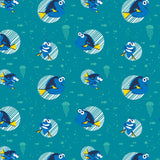 Turquoise Disney Finding Dory Faces