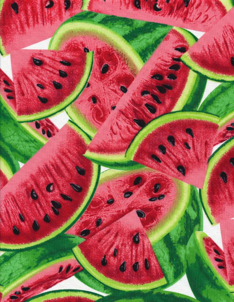 Watermelon Pieces Print