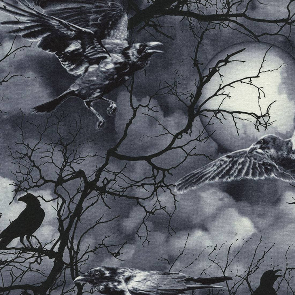 Wicked Eve Crows Cotton