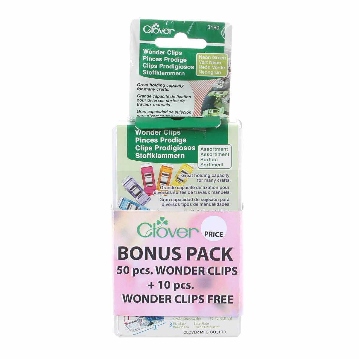 Wonder Clips 50pkt with 10 bonus