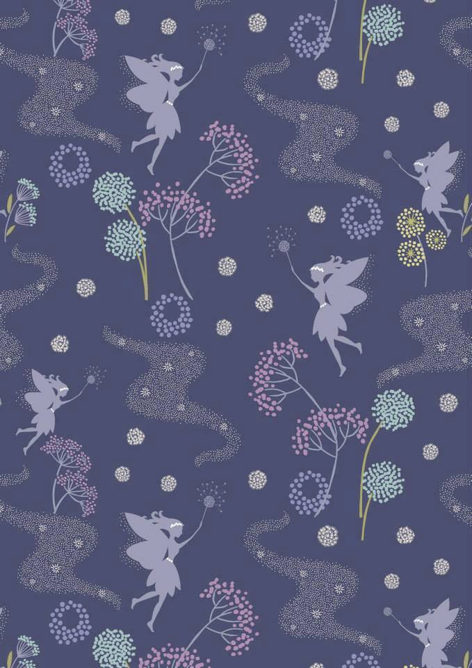 Make a Wish Lilac Scatter Cotton