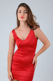 Passion Mini Satin Dress
