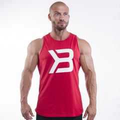 Better Bodies Brooklyn tank,bright red