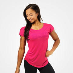 Better Bodies Gracie tee, hot pink