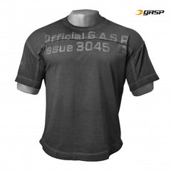 Gasp HL Yoke tee, washed black