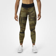 Better Bodies Camo high tights,Green camo