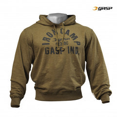 Gasp Throwback hoodie, Military Olive