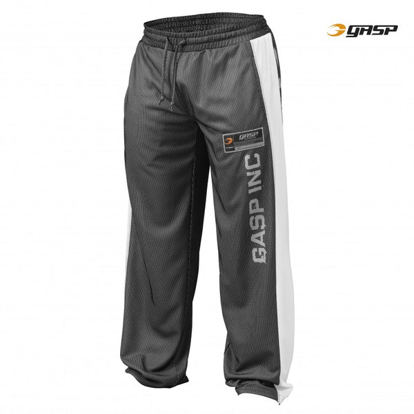 Gasp NO1 MESH PANT, BLACK/WHITE