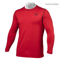 Better Bodies Performance long sleeve,Bright Red