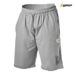 Gasp Throwback sweatshorts, Light Grey