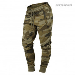 Better Bodies Jogger sweat pants,Green Camo