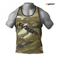 Gasp VINTAGE T-BACK,Green Camo Print
