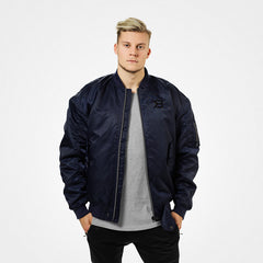 Better Bodies Astor Bomber Jacket, dark navy