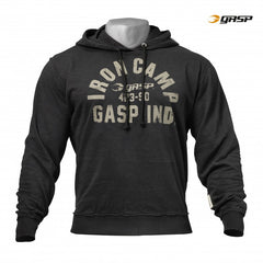 Gasp Throwback hoodie, washed black
