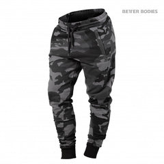 Better Bodies Jogger sweat pants, dark camo