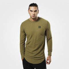 Better Bodies Harlem Thermal ls,Military Olive