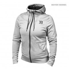 Better Bodies women Performance Hoodie, Greymelange