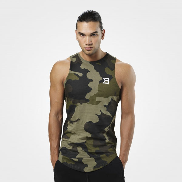 Better Bodies Harlem tank,Military Camo