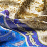 Impressions of the Orient Modal & Cashmere Scarf Fabric Close-up - R. Culturi
