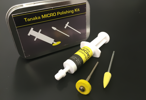 Tanaka Micro Diamond Polishing Paste Kit