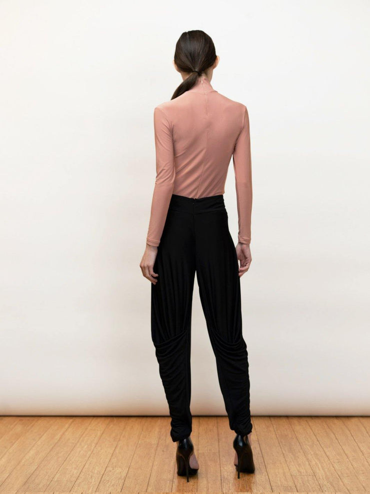 Anthea - Draped Pants in Jersey