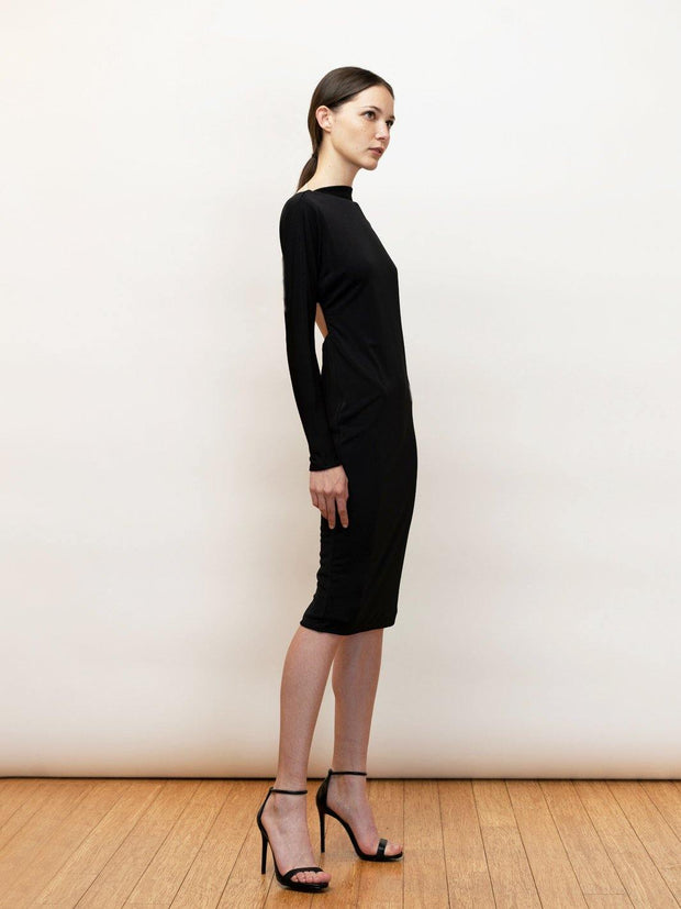 Athena matte jersey dress - by Michail Sykianakis Clothing