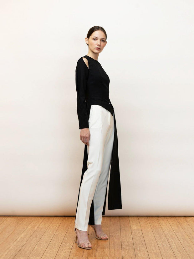 long tailored top
