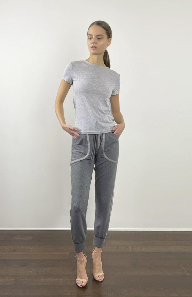 Orestias - Casual Chic Sweatpants - Full Front