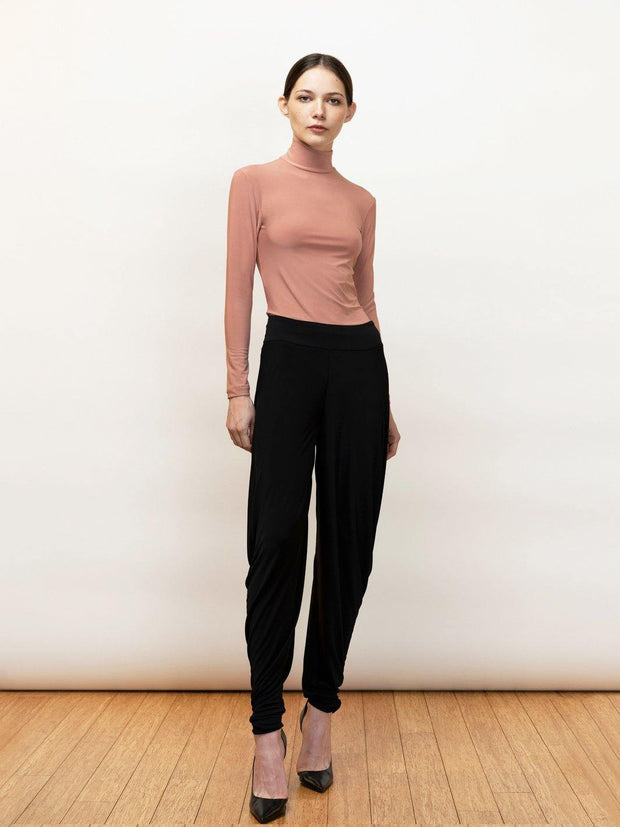 Anthea Draped Jersey Pants