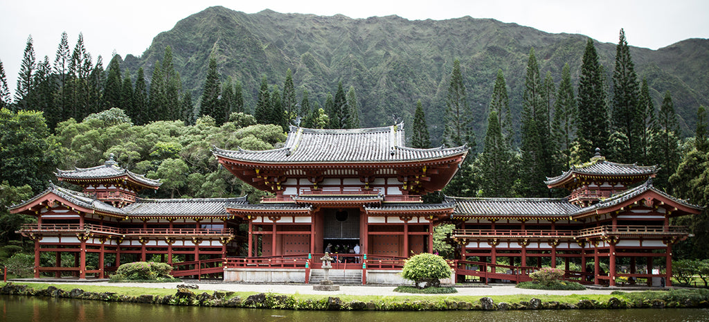 Byodo-In Temple - Valley of the Temples Kaneohe