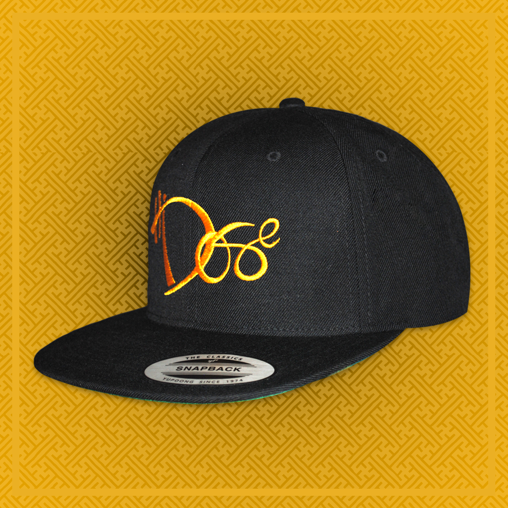 6-Panel Gold - Handstyle - RESTOCKED*