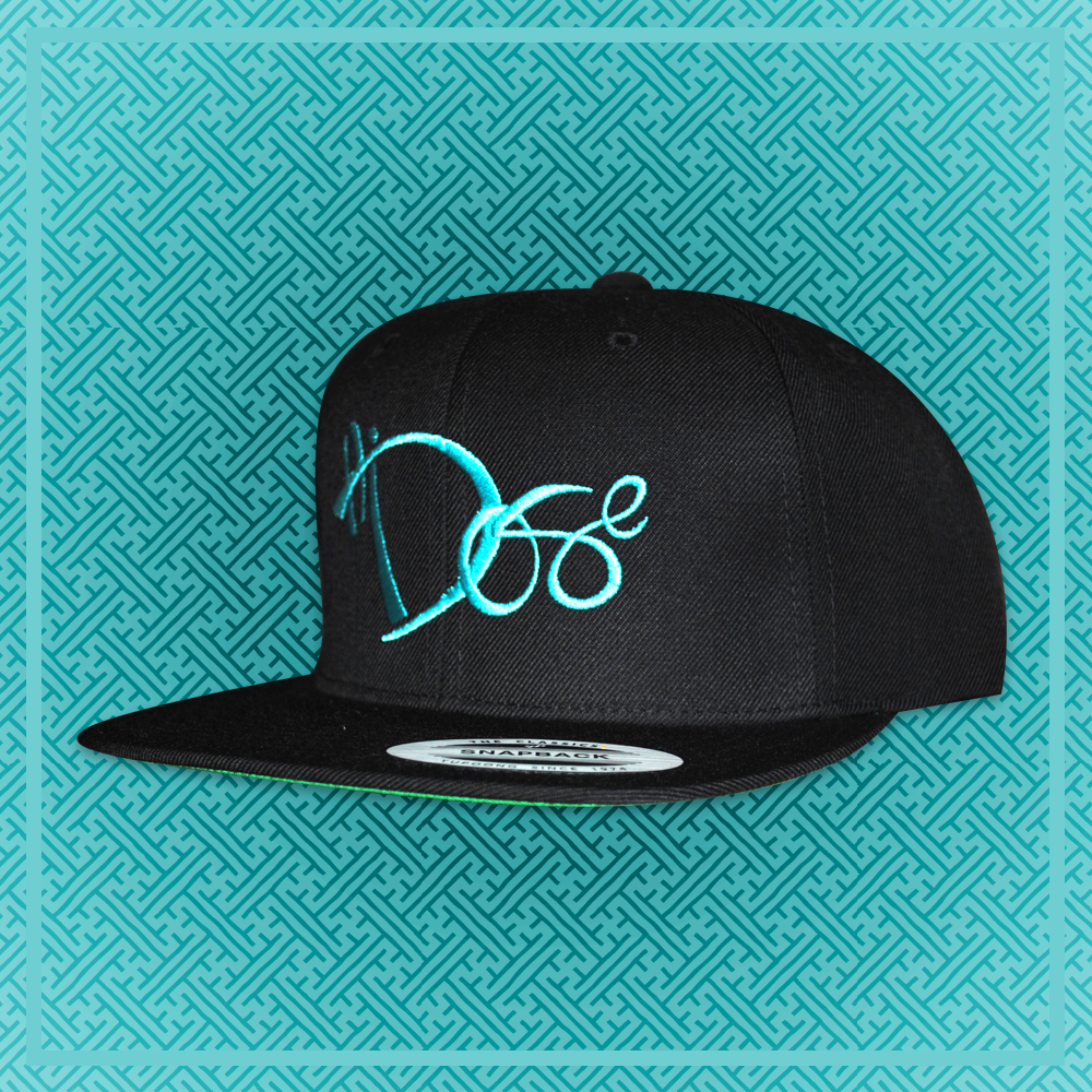6-Panel Teal - Handstyle