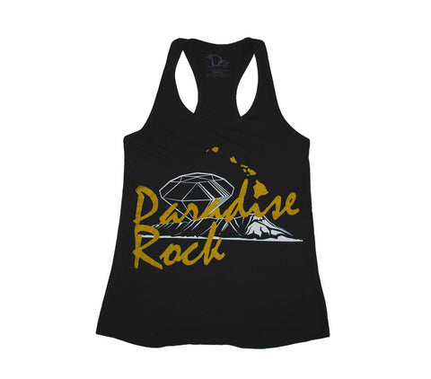 Women's Paradise Rock Tank - Black
