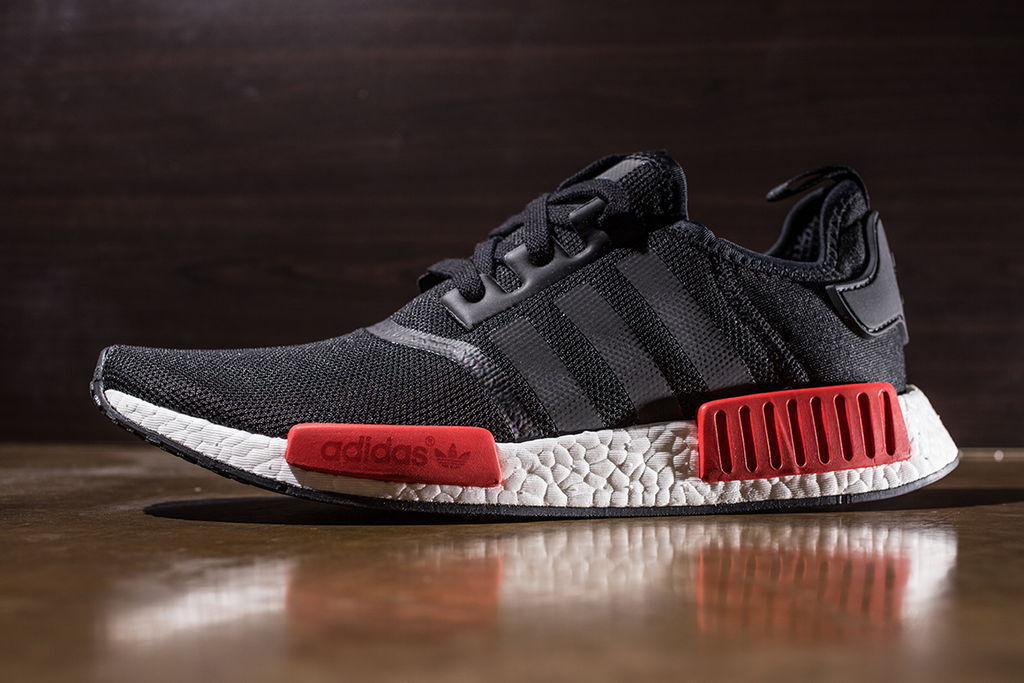 Adidas NMD R1 Black Red (BB1969)