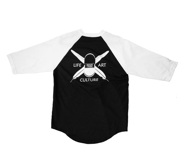 Men's Med Tribe - Baseball Blk/Wht