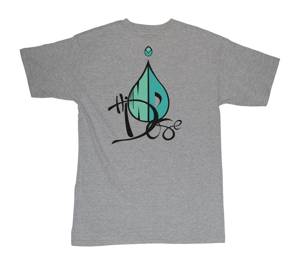 Men's Drop Logo - Heather Grey