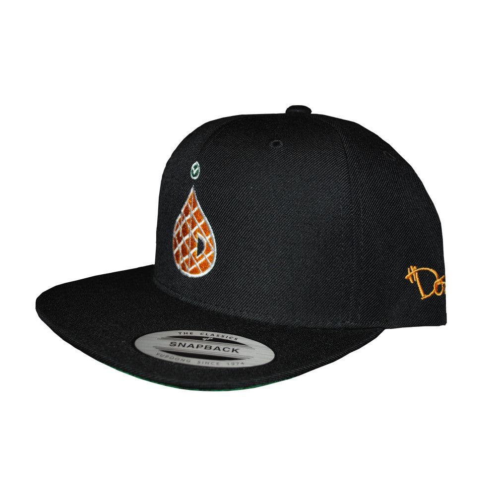 6-Panel Pineapple - Black