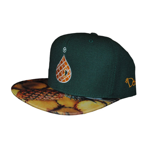 6-Panel Pineapple - Green Custom