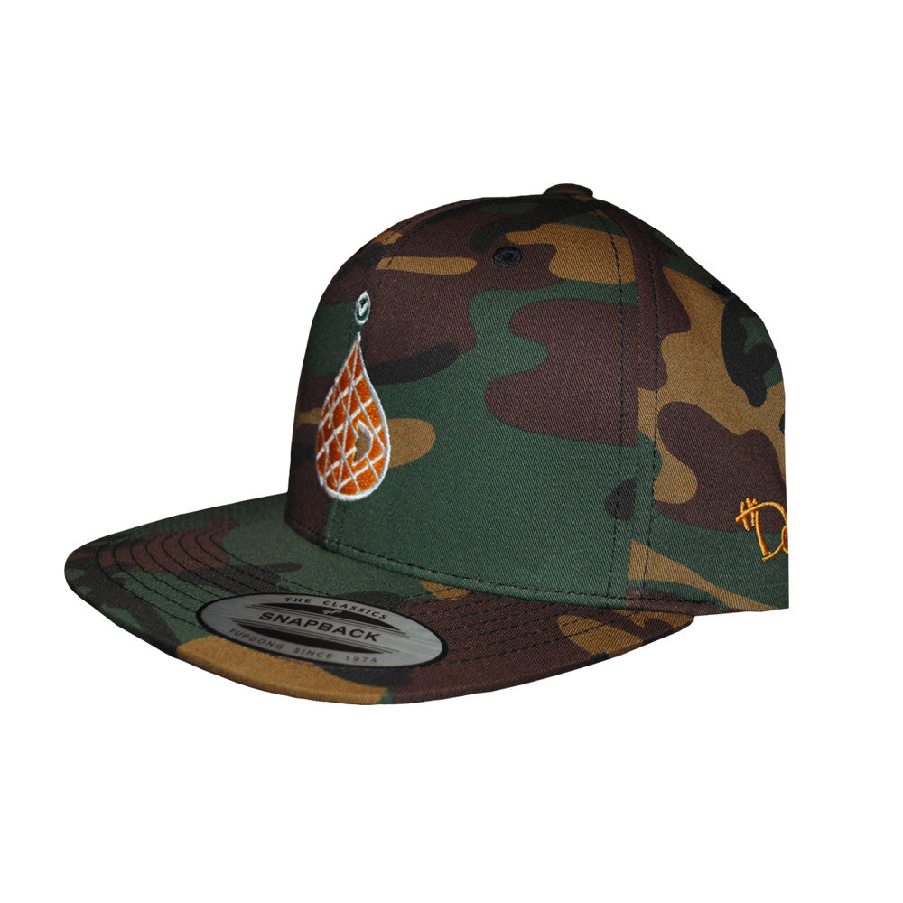 6-Panel Pineapple - Military