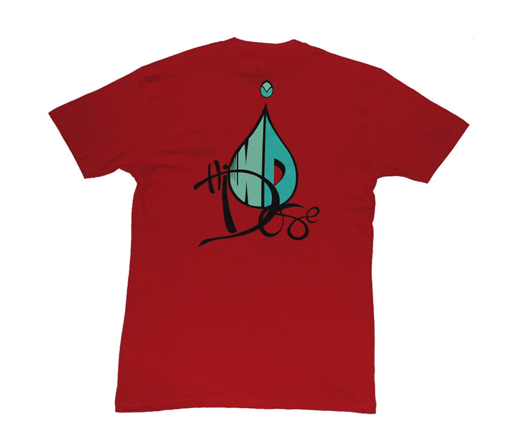 Men's Drop Logo - Red
