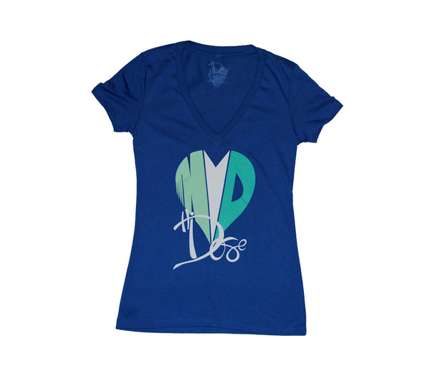 Women's Heart Drop - Deep V-Neck