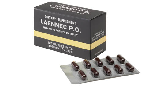 Laennec PO Placental Extract - Capsules - With FREE shipping!
