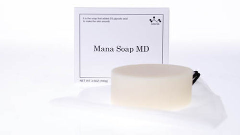 anela Mana Soap with 5% Glycolic Acid