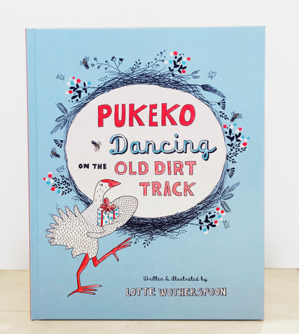 PUKEKO DANCING ON THE OLD DIRT TRACK
