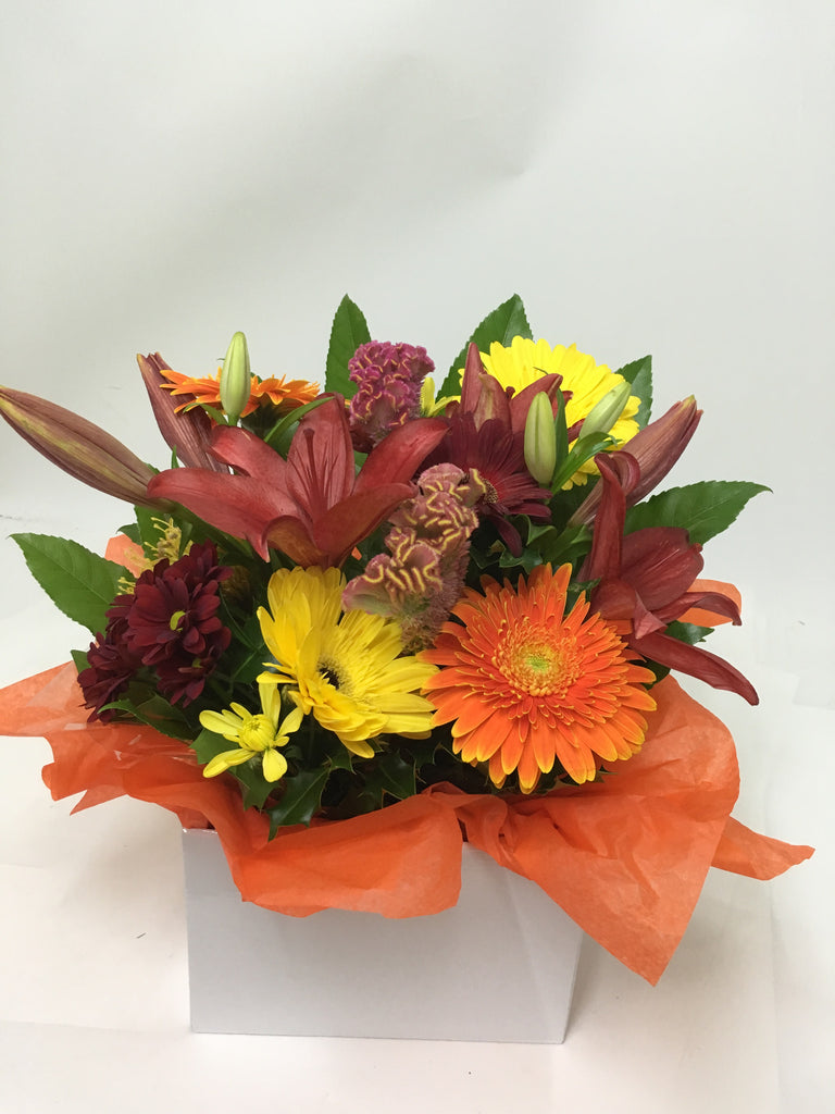 Warm Autum arrangement