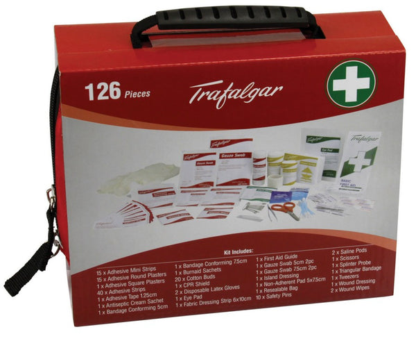 Family First Aid Kit - 126 Pieces