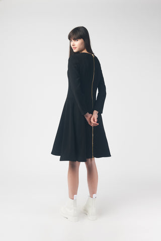 Elle Oh Elle Back Zipper Dress