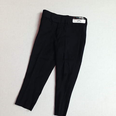 David Oliver Black Slim Fit Pants