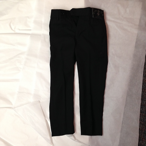 David Oliver Black Tailored Pants