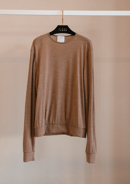 Société Basics Merino Wool Jersey long sleeve jumper